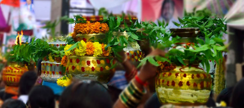Bonalu festival is very famous folk festival in the Telangana region
