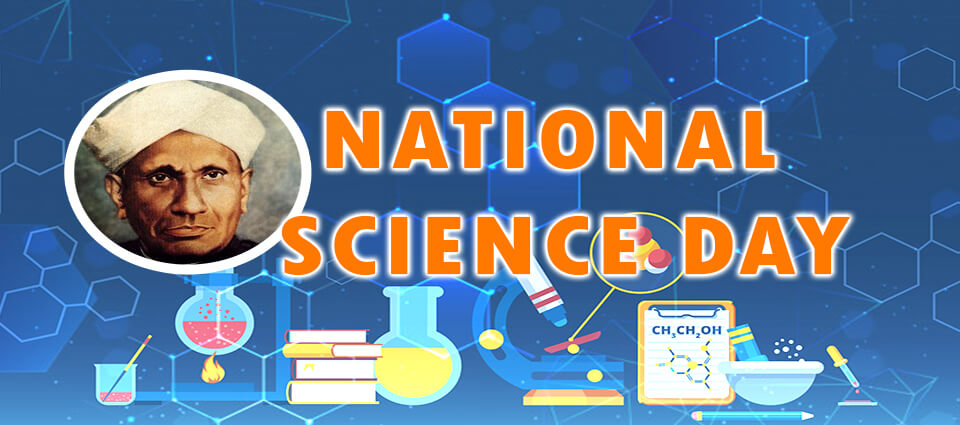 National Science Day - CV Raman - Nobel Prize in Physics