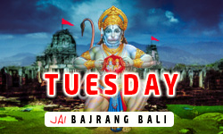 Tuesday Wishes Lord Hanuman Greetings