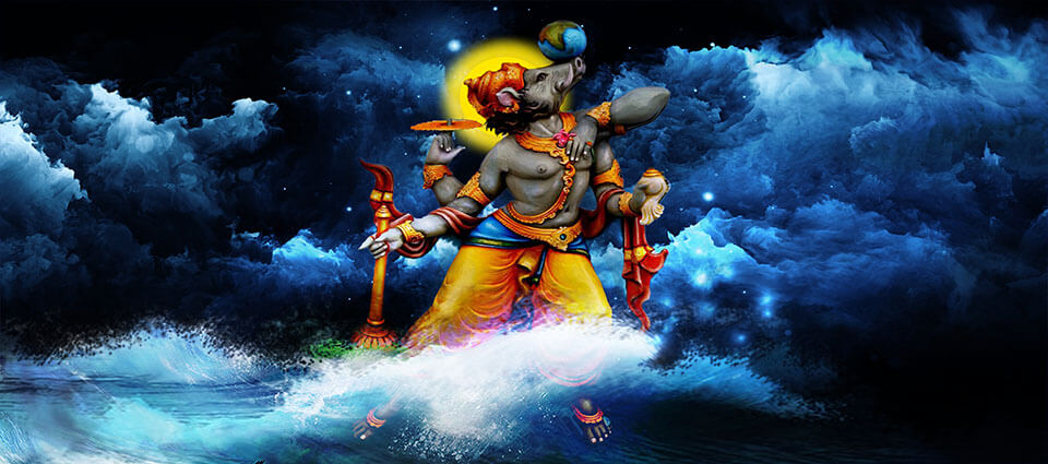 Varaha Jayanti: Varaha is known in the third incarnation of Lord Vishnu.